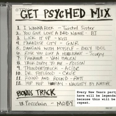 Get Psyched Playlist